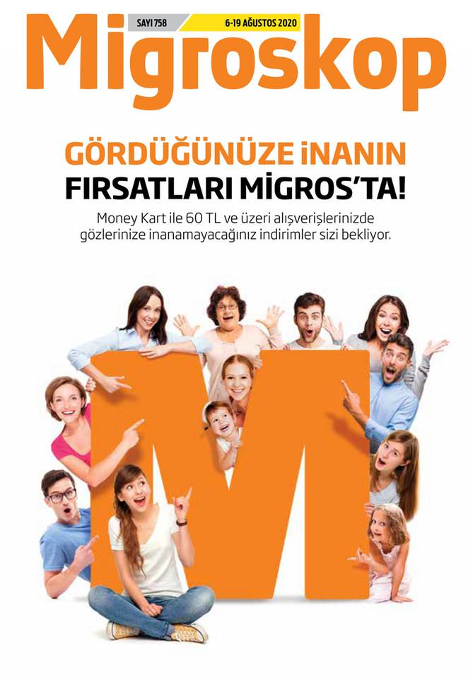 Migroskop Migros Katalog Ağustos 2020